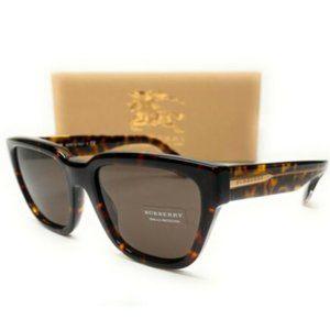 Burberry Women's Dark Havana Brown Sunglasses!
